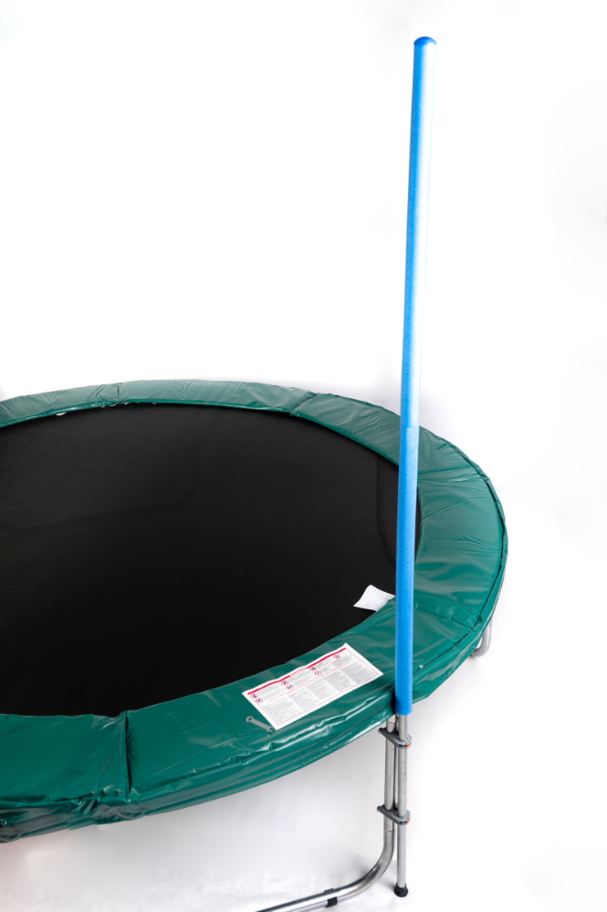 one pole attached to jumpire trampoline
